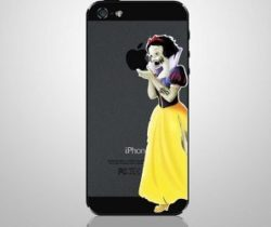 zombie snow white iPhone decal