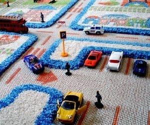 3D play rug