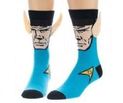 3d ears spock socks