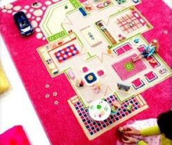 3d playhouse rug