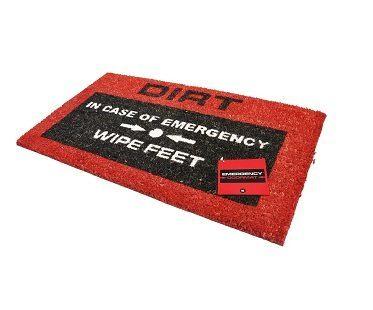 Emergency Doormats