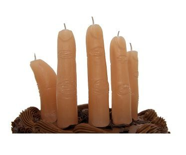 Finger Shaped Candles