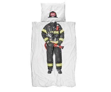 Firefighter Bedding Set