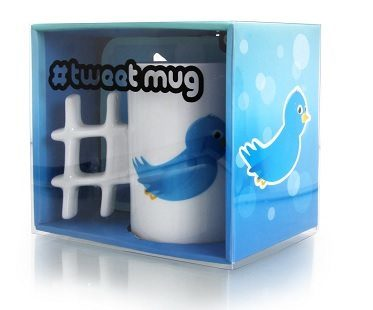 Hash Tag Tweet Mugs