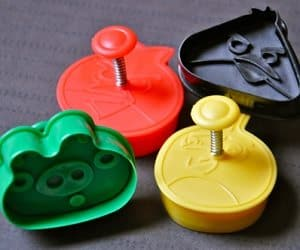 angry birds cookie cutters