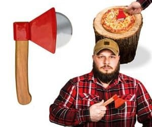 axe pizza cutter
