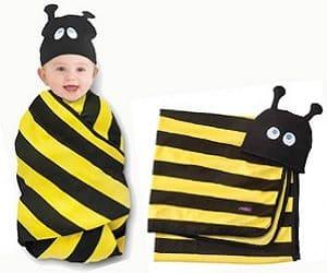 bumble bee swaddle set