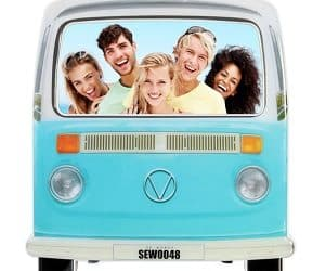 campervan photo frame