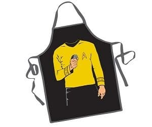 captain kirk apron