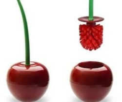 cherry toilet brush