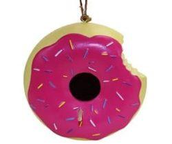 donut birdhouse