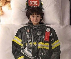 firefighter bed set