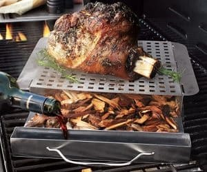grill smoking platform