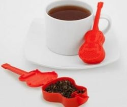 guitar tea infuser