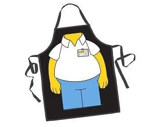 homer simpson apron