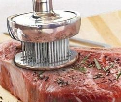marinade infusing meat pounder