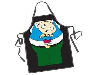 peter and stewie apron