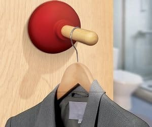 plunger door hook