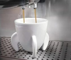 rocket ship espresso cups