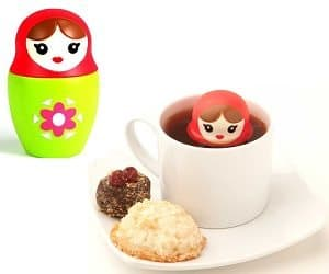 russian doll tea infuser