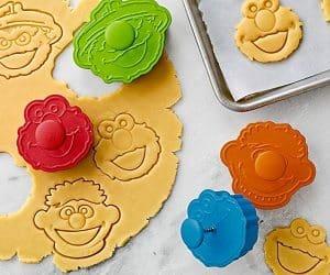 sesame street cookie cutters