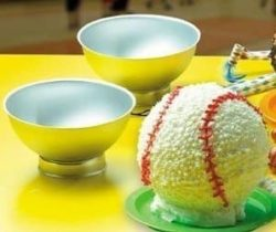 sports ball cake pan set