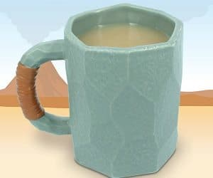 stone age caveman mug