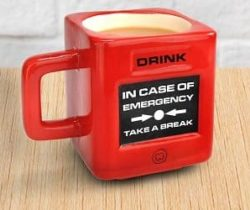 take a break mug