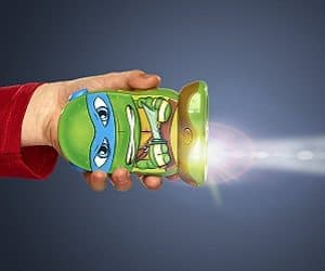 tmnt leonardo flashlight