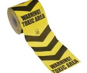 toxic area toilet roll