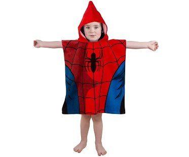 Hooded Spiderman Towels