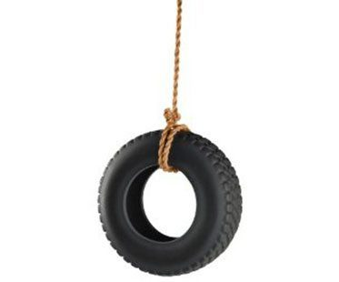 TIRE-SWING-BIRD-FEEDER