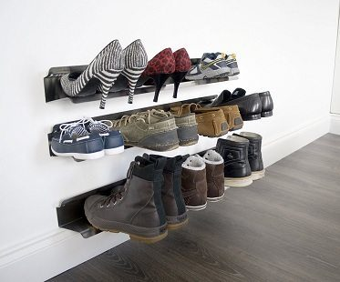 Horizontal Shoe Racks