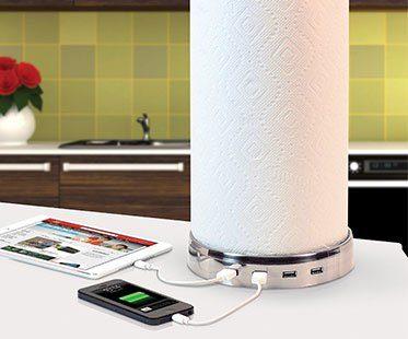 KITCHEN-TOWEL-HOLDER-USB-HUBS