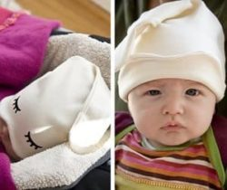 baby sleep hat