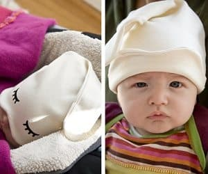 baby sleep hat