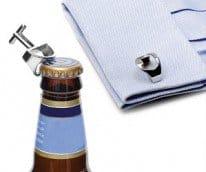 bottle opener cufflinks