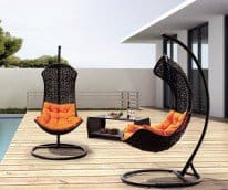 curve swing chair