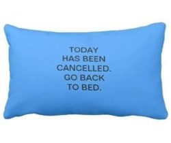 go back to bed pillowcase