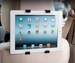 headrest tablet holder