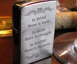 in wine there is truth lighter