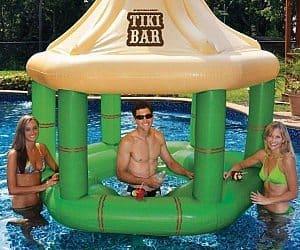 inflatable tiki bar