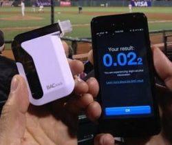 smartphone breathalyzer