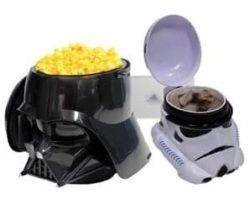 star wars popcorn bucket and mug