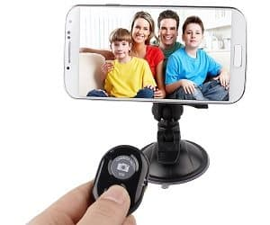 wireless selfie remote