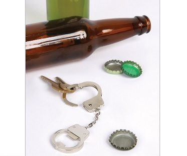 Handcuff Bottle Openers