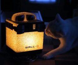 Wall-E lamp