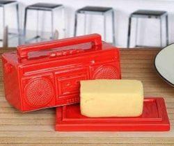 boombox butter dish