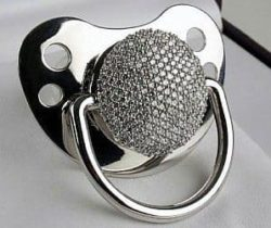 diamond pacifier