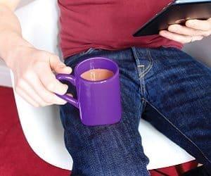 knee mug